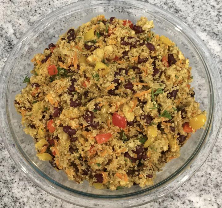Quinoa and Kidney Bean Salad