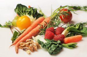 eat plenty for fruits and veggies
