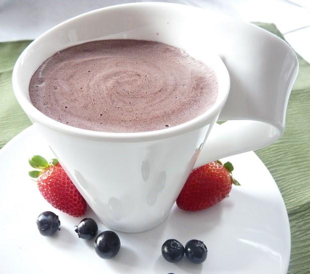 Hot Maca Chocolate Drink